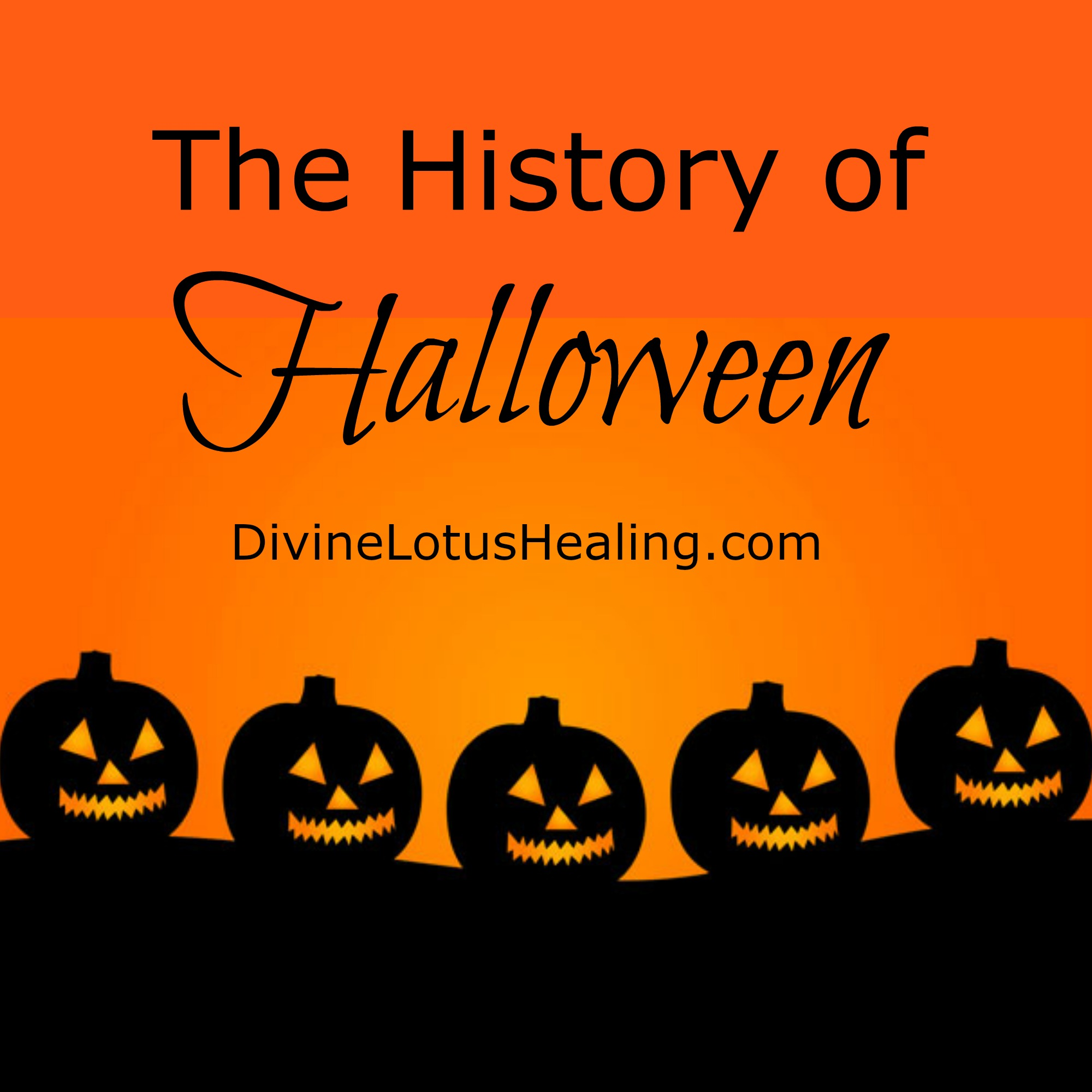 Divine Lotus Healing | The History of Halloween