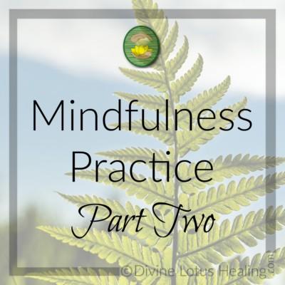 Divine Lotus Healing | Mindfulness Practice Part 2