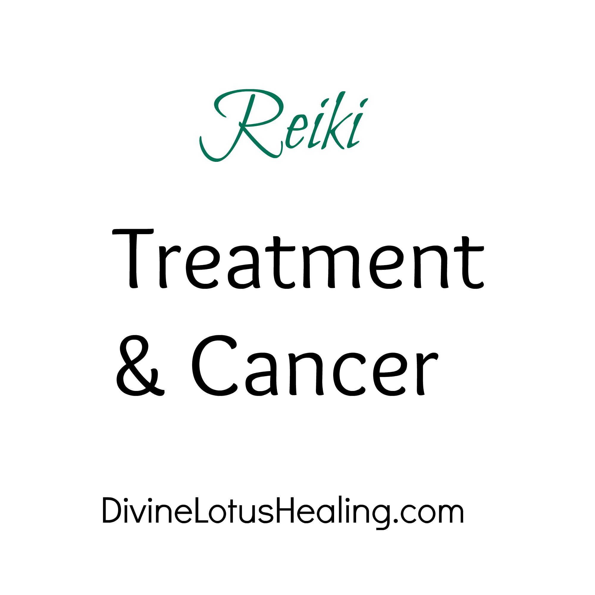 Divine Lotus Healing Reiki Treatment and Cancer
