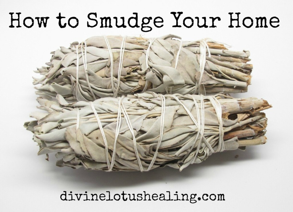 Divine Lotus Healing | How to Smudge Your Home