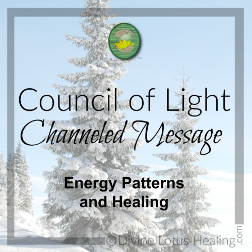 Divine Lotus Healing Council of Light Channeled Message Energy Patterns and Healing