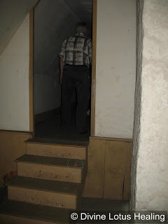 Same orb following man into room-circled