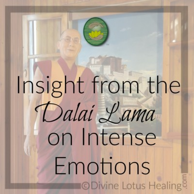Divine Lotus Healing | Insight from the Dalai Lama on Intense Emotions