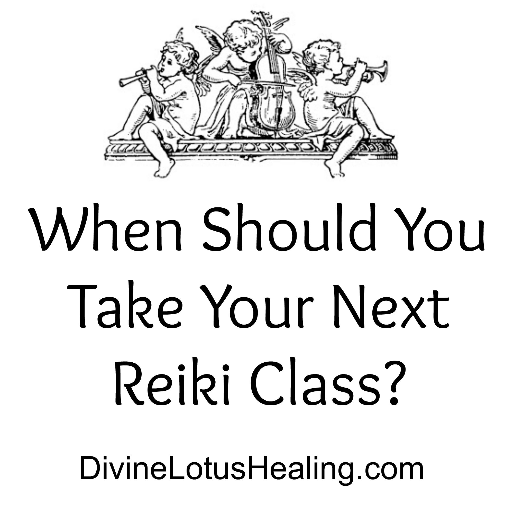 Divine Lotus Healing | When Should You Take Your Next Reiki Class?