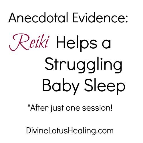 Divine Lotus Healing   Reiki Helps a Struggling Baby Sleep