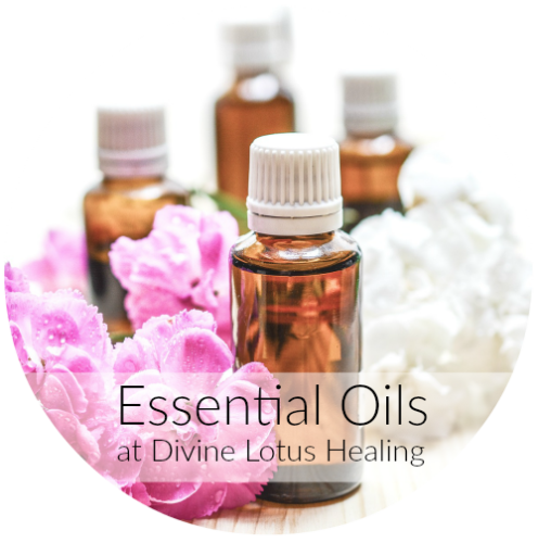 Essential Oils at Divine Lotus Healing