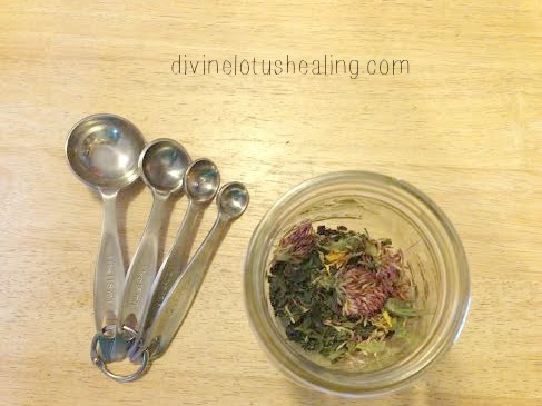 Eczema Tea Recipe - Divine Lotus Healing