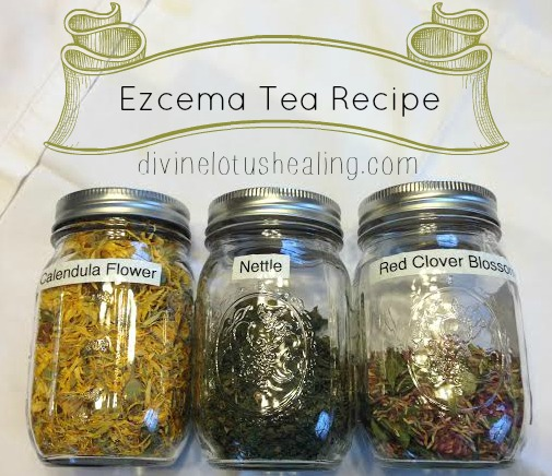 Eczema Tea Recipe | Divine Lotus Healing