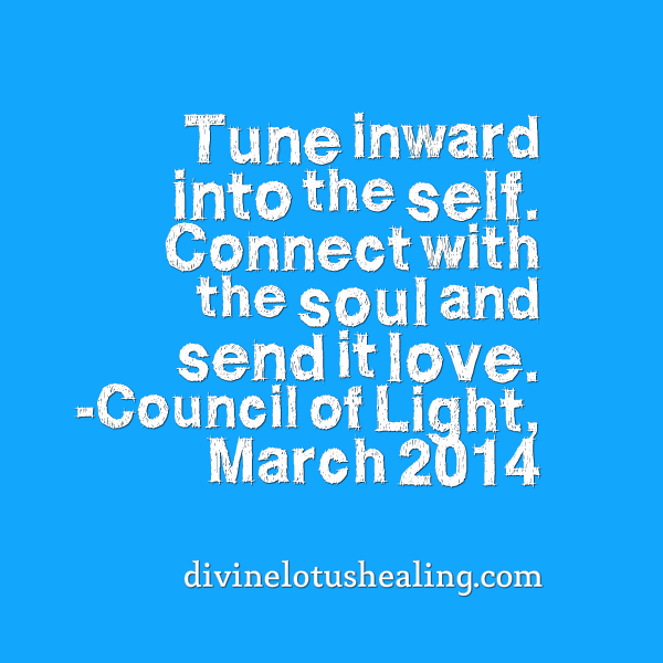 March 2014 Council of Light Channeled Message Quote