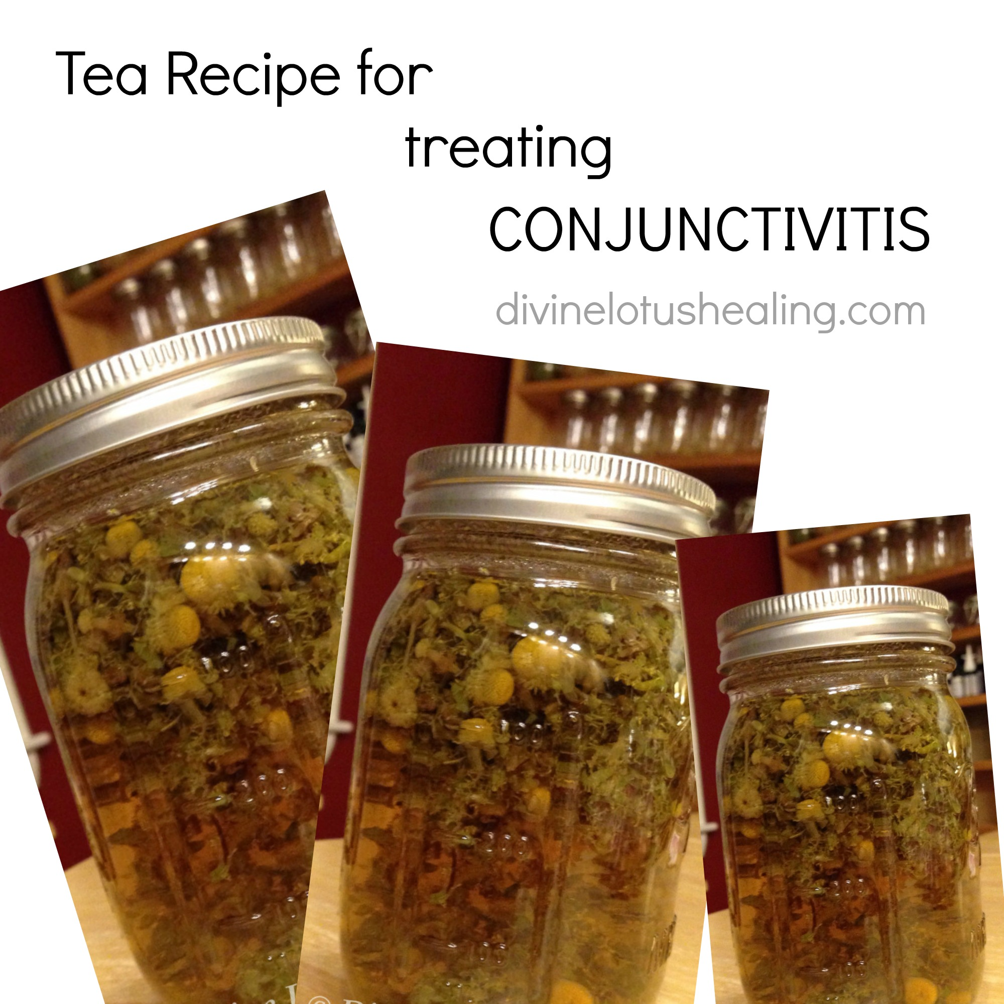 conjunctivitis tea recipe