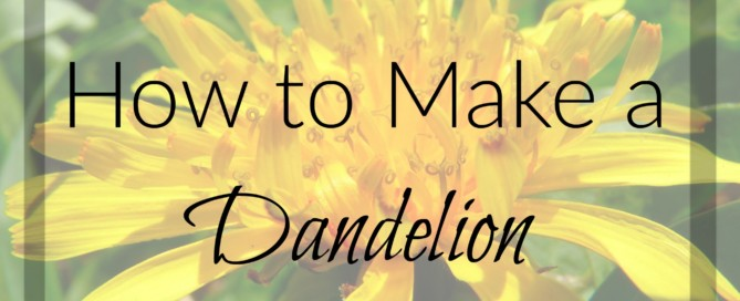 Divine Lotus Healing | How to Make a Dandelion Tincture
