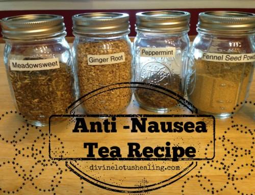 Upset Tummy Tea Recipe
