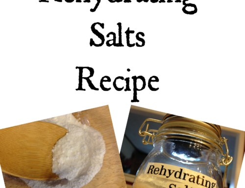 Rehydration Salts Recipe