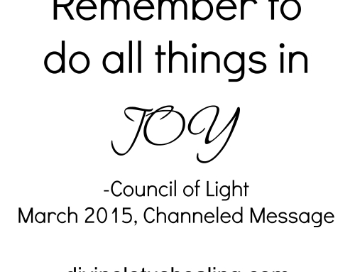 Council of Light Channeled Message March 2015