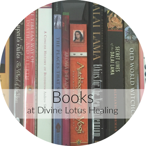 Books at Divine Lotus Healing