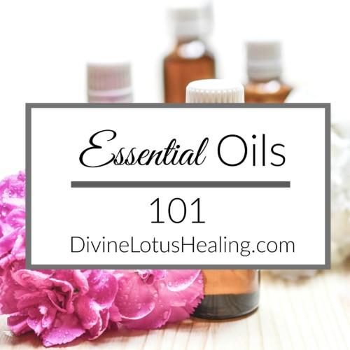 Divine Lotus Healing Essential Oils 101 Square