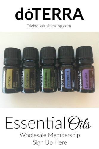 Divine Lotus Healing doTERRA Wholesale Membership Buy Essential Oils