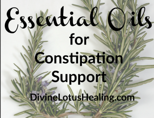 Essential Oils for Constipation Support