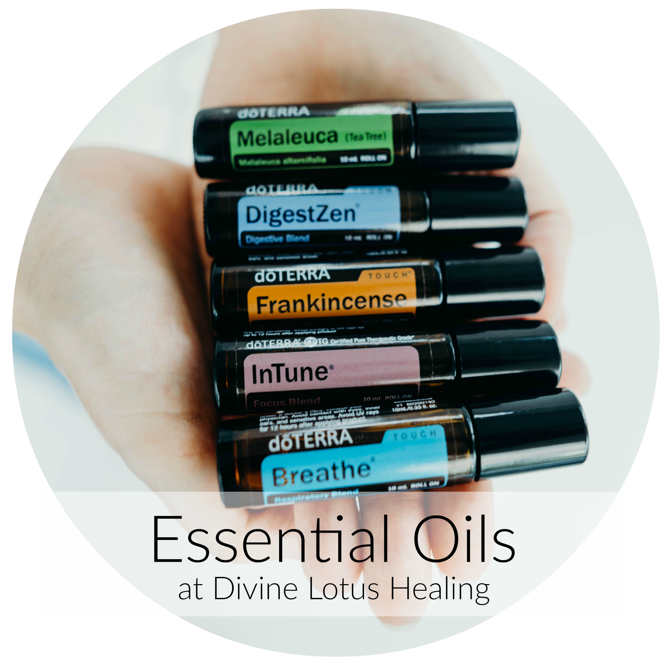 Divine Lotus Healing Essential Oils