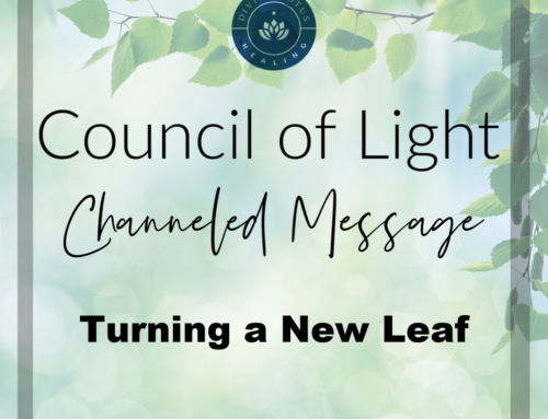 Turning a New Leaf: Council of Light Channeled Message